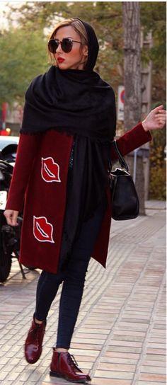 Street style # iran