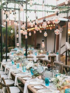 Gorgeous Southern California Rustic Elegant Wedding - Luxe Linen / Style Me Pretty