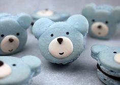 Bear Macarons by Bakerella, via Flickr