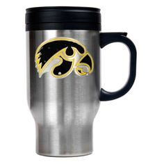 Great American NCAA 16 oz. Logo Stainless Steel Travel Mug - TM2