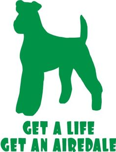 Get a life Get an Airedale!