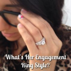 What's Her Engagement Ring Style? Pictured: Royal Tiara by Peter Lam Luxury – Sku 0387988