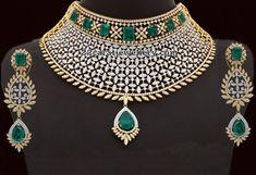 38 lakhs Heavy Diamond Set - Jewellery Designs