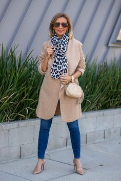A Second Look At Our Tan Reversible Boucle Coat