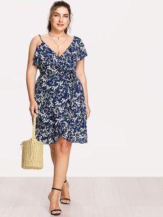 Pretty Buckle Plus Size Bardot Dress Plus Size