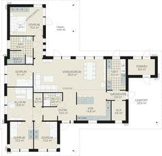 Fiskarhedenvillan - Bofinken New England, My House, Floor Plans, How To Plan, Future, Architecture, Inspiration, Clothes, Home Decor
