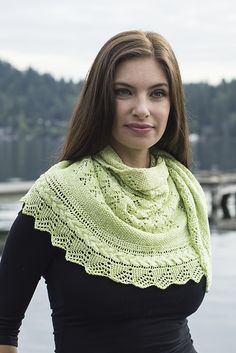 Ravelry: Textured Lace & Cables Half Circle Shawl pattern by Michael Harrigan
