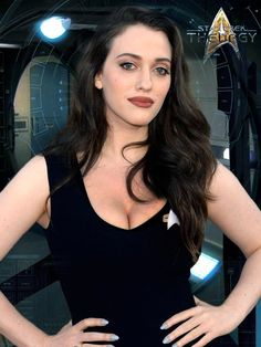And You Thought Star Trek Was Just For Nerds! 32 Of The Hottest Trekkie Cosplay Girls Beautiful Celebrities, Beautiful Actresses, Gorgeous Women, Hot Actresses, Hollywood Actresses, Kat Dennings Pics, Kat Dennings Bikini, Star Trek Cosplay, 2 Broke Girls