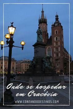 Uma lista com dicas das melhores localizações de onde se hospedar em Cracóvia, na Polônia. Encontre hospedagens econômicas, hostels e hotéis em Cracóvia, Polônia.