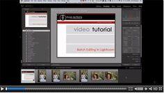 Batch Editing in Lightroom - Video Tutorial