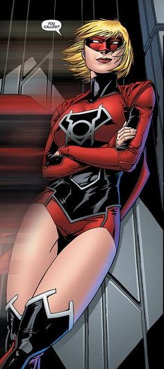 Red Lanterns Corps Member - Supergirl by ANSEM3