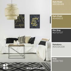 20 Modern Home Color Palettes to Inspire You | Offeo