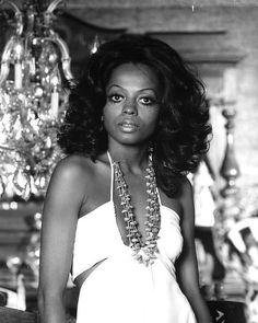 Diana Ross portrait