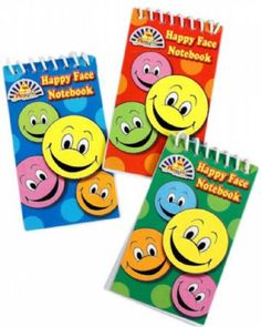120x Happy Face Notebook from David S Sales (303-509)