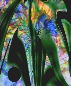 Koop 'Digitalis' van Peter Norden voor aan de muur.