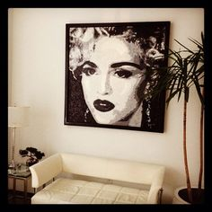 Inside the Material Girl office! #Madonna #MaterialGirl