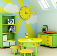 Fun and adorable kids playroom design ideas Kids Bedroom, Bedroom Decor, Bedroom Ideas, Bedroom Wall, Childrens Bedroom, Bedroom Designs, Nursery Ideas, Nursery Themes, Nursery Decor