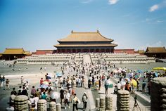 Die Verbotene Stadt war das Symbol der Macht der chinesischen Kaiser.