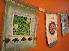 prayer flags : in progress by karen*me-shell, via Flickr