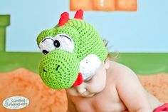 Dino crochet pattern (all sizes) ~ free pattern ᛡ