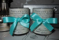 Set of 2 Small Tiffany and Co Inspired by crystawilliamdesigns, $14.00