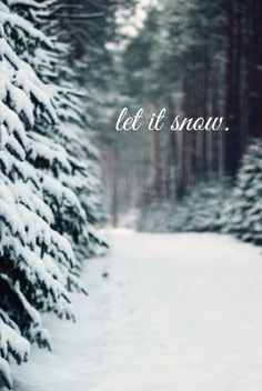 I always wish for ONE good snow every winter, even if I do live in Ga.