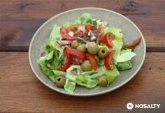 Kevert saláta mustáros öntettel
