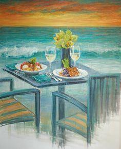 September McGee es un pintor impresionista americano. Sus hermosas pinceladas están llenas de color.