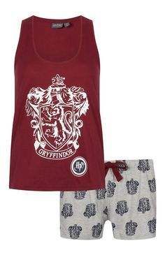 Primark - Pyjama Harry Potter avec short Plus Mode Harry Potter, Harry Potter Style, Harry Potter Outfits, Harry Potter Theme, Harry Potter Hogwarts, Sleepwear & Loungewear, Lingerie Sleepwear, Nightwear, Lazy Day Outfits