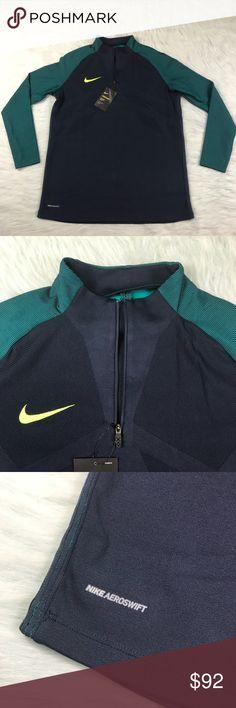 Nike Strike Aeroswift Soccer Drill Top 1/4 Zip L Men's size large Nike Aeroswift soccer goalie top shirt 1/4 zip. BRAND NEW WITH TAGS RETAIL $120 Nike Jackets & Coats Lightweight & Shirt Jackets