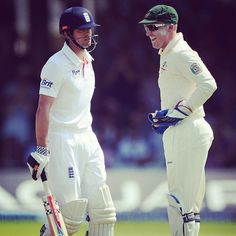 Brad Haddin bids farewell to Alistair Cook after he fell victim to a Shane Watson gem #Ashes #ReturntheUrn