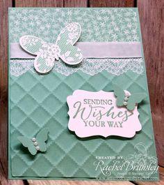 Butterfly Basics meets Delicate Details | Rachel Stamps