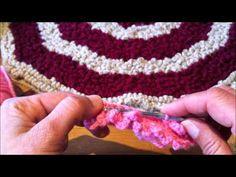 Tutoriel crochet comment faire un tapis moelleux - YouTube