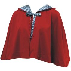 Capa Vermelha com Capuz Forrado e Detalhes em Xadrez - PREVIEW DE INVERNO! R$130.00