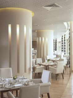 Restaurant at Raffles Dubai Hotel