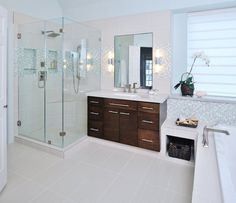 How-To DIY Article | 11 Simple DIY Ways To Make Your Small Bathroom Look BIGGER | Image Source: Carla Aston