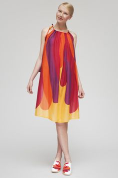 Marimekko dress: another fine dress shape w/ pattern.