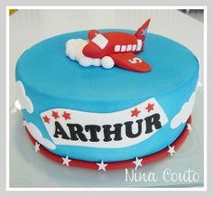 Gâteau avion - anniversaire enfant Nîmes