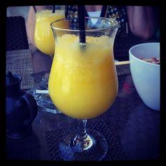 Orange and lemon smoothie