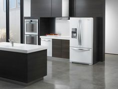 White Ice gives your kitchen a clean slate.