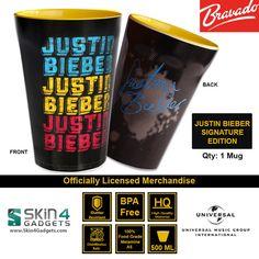 Universal Music/ Bravado Officially Licensed Merchandise Artist: Justin Bieber-4 Faces Edition
