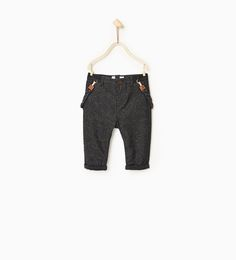 Lined trousers with braces-SHOP BY LOOK-BABY BOY | 3 months-3 years-KIDS | ZARA United States