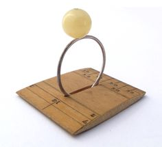 I love the ruler-as-ring-stand idea!  Have to scrounge for some old wooden rulers. Alys Power Design