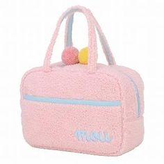 ROOTOTE Pompom Handbag [AVION DE PAPIER - Gloss-B] Pink – One Size 1022722995