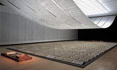 Xu Bing, A Book from the Sky, 1987-91 installation view. Courtesy: Ullens Contemporary Centre for Contemporary Art, Beijing. See: Jennifer Higgie, 'Things to Come, 2008, frieze, issue 112, January-February 2008