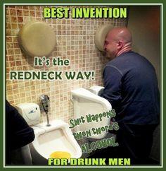 Best invention for drunk men!