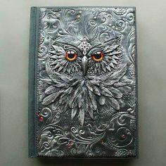 .Amazing polymer clay Journals by Aniko Kolesnikova
