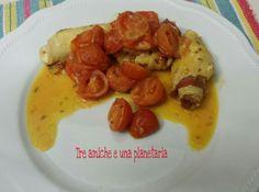Involtini di pollo e speck Pancakes, Breakfast, Food, Morning Coffee, Pancake, Meals, Yemek, Eten, Crepes
