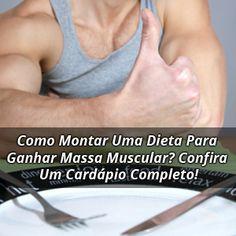 Se seu objetivo é Hipertrofia você precisa focar na sua dieta. Aprenda como montar sua dieta para ganhar massa muscular e confira um cardápio completo.