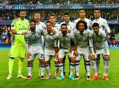 EQUIPOS DE FÚTBOL: REAL MADRID Campeón de la Supercopa de Europa 2016